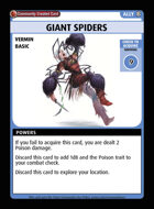 Giant Spiders - Custom Card