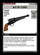 Ace Of Clubs - Custom Card