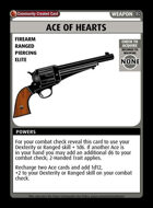 Ace Of Hearts  - Custom Card
