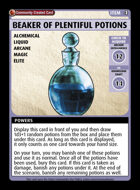 Beaker Of Plentiful Potions - Custom Card
