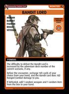 Bandit Lord - Custom Card