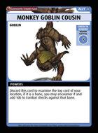 Monkey Goblin Cousin - Custom Card