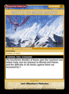 Battle On Mhar Massif - Custom Card