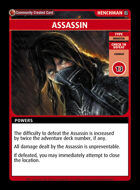 Assassin - Custom Card