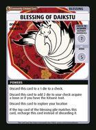 Blessing Of Daikstu - Custom Card