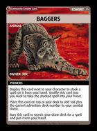 Baggers - Custom Card
