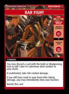 Bar Fight - Custom Card