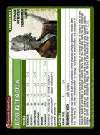 Barrinde Goeta - Custom Card