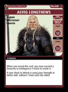Asvig Longthews - Custom Card