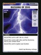 Blessing Of Zeus - Custom Card