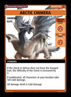 Arctic Chimera - Custom Card