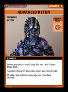 Advanced Kyton - Custom Card