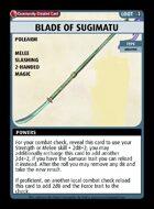 Blade Of Sugimatu - Custom Card