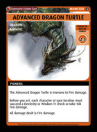 Advanced Dragon Turtle - Custom Card