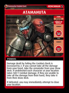 Atamahuta - Custom Card