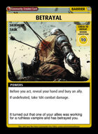 Betrayal - Custom Card