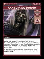 Akatsuka Katsumoto - Custom Card
