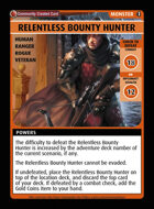 Relentless Bounty Hunter - Custom Card