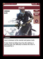 Asar - Custom Card