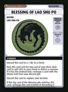 Blessing Of Lao Shu Po - Custom Card
