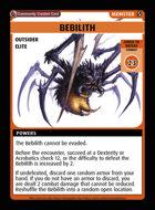 Bebilith - Custom Card
