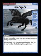 Blackjack - Custom Card