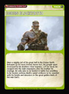 Beorn Blacktooth - Custom Card