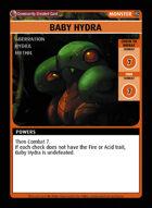 Baby Hydra - Custom Card