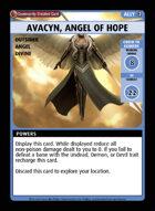 Avacyn, Angel Of Hope - Custom Card