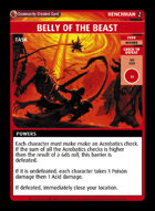 Belly Of The Beast - Custom Card