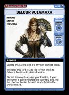 Delour Aulamaxa - Custom Card