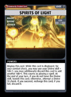 Spirits Of Light - Custom Card