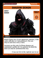 Shadow Demon - Custom Card