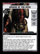 Armor Of The Rose - Custom Card