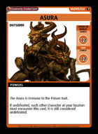 Asura - Custom Card