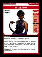 Belessima - Custom Card