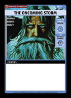 The Oncoming Storm - Custom Card