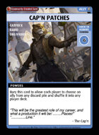 Cap'n Patches - Custom Card