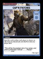 Cap'n Patches - Custom Card