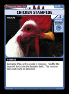 Chicken Stampede - Custom Card