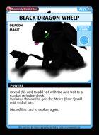 Black Dragon Whelp - Custom Card
