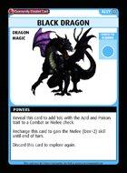 Black Dragon - Custom Card