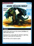 Azure Dragon Whelp - Custom Card