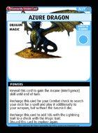 Azure Dragon - Custom Card