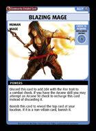 Blazing Mage - Custom Card