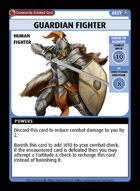 Guardian Fighter - Custom Card