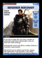 Berserker Mercenary - Custom Card