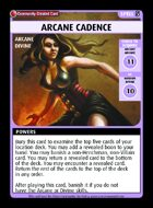Arcane Cadence - Custom Card