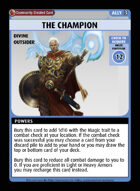 The Champion - Custom Card