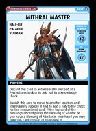 Mithral Master - Custom Card